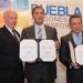 Firma Gobernador de Puebla convenio con la UNAM y BUAP para abatir analfabetismo