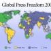 A la baja libertad de prensa en México