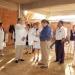 Supervisa secretario de salud edificio de capacitación para enfermería