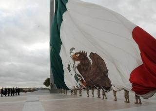 Izan bandera m s grande del mundo en coahuila rcmultimedios - Baneras de piedra ...