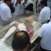 Saldo blanco durante el arribo de las reliquias del Beato Juan Pablo II a Chiapas