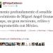 Calderón lamenta la muerte de Granados Chapa