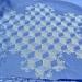 Hombre camina por días para crear estos espectaculares mandalas en la nieve