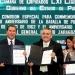 Cámara de Diputados y gobierno de Puebla firman convenio para los festejos del 5 de mayo