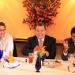 Ángel Heladio Aguirre pide gestionar mayores recursos senadores y diputados electos