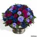 Kate y William...reciben rosas azules, lilas y vino tinto
