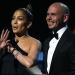 JLo y Pitbull...abrieron entrega de Premios Juventud