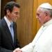 Francisco recibe a Capriles...¿ que opinará Maduro ?