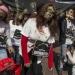 Davos....Zombies se manifiestan en contra de políticas económicas