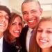 Lili Estefan...se tomó la selfie con Obama
