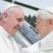 Francisco y Benedicto juntos en canonización de Juan Pablo y Juan XXIII