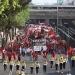 DF...marchan por el Día del Trabajo diversas organizaciones