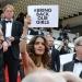 Hayek...se pronunció en Cannes por liberación de niñas nigerianas