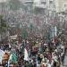 Gaza...miles acuden a entierro de comandantes de Hamás