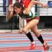 Paola Morán...ganó en 400 con vallas en Olímpicos de la Juventud