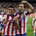 Jiménez...anoto su primer gol con Atlético de Madrid