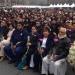 Día del Amor...se casaron 1690 parejas en el Zócalo