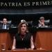 Arely Gómez..Comisión de Justicia avaló dictamen de nombramiento