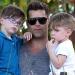 Ricky Martin...cómo pasa el tiempo sus hijos ya crecieron