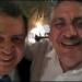 Acosta Naranjo...presume foto con Aguirre entre palmeras