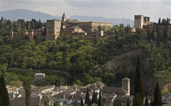 Alhambra esplendor en sus fuentes jardines y for Decoracion jardin granada