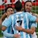 Argentina con más pena que gloria 1-0 a Jamaica