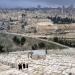 Jerusalén...la ciudad vieja vista desde el monte de los Olivos