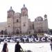 Oaxaca...Jóvenes se manifiestan contra construcción del CCCO