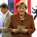 Merkel...sufre rebelión en sus filas por rescate a Grecia