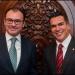 Luis Videgaray... reitera compromiso de trabajar por el bien de Campeche