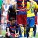Barcelona... gana, pero pierde a Messi