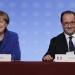 UE... Merkel y Hollande piden unidad frente a crisis europea