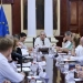 Núñez... recibe a Delegación comercial de la Unión Europea en México