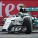 Nico Rosberg...ganó el Gran Premio de México...Checo octavo