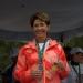 Mercedes Juan...encabezó carrera para combatir obesidad