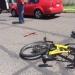 CDMX...atropellan joven ciclista detienen al conductor