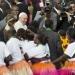 Francisco...llegó a Kenia con un mensaje de paz y esperanza