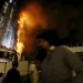 Año Nuevo... Incendio en rascacielos de Dubái antes de la celebración
