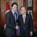 Ban...aplaudió decisión de Canadá de recibir refugiados sirios
