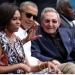 Obama y Castro...disfrutaron el beisbol a ritmo de rumba