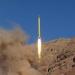 Irán...disparó dos misiles con el mensaje Israel debe desaparecer