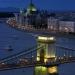 Budapest...puente de las Cadenas el más icónico del Danubio