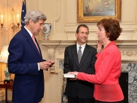 Roberta Jacobson...juró como nueva embajadora en México