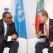 ONU...profunda preocupación por combates entre Etiopía y Eritrea