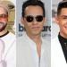 Marc Anthony, Yandel, Coronel y Nacho Mendoza en grabación