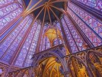 La Sainte Chapelle...500 metros de espectaculares vitrales