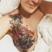 Tatuaje de una mujer con cáncer de mama que se volvió viral