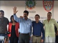 Aispuro y Corral...se reúnen para acordar acciones en municipios