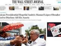 Calumnia la nota de The Wall Street Journal, sobre los departamentos de AMLO