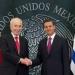 Peña...no fue a Nochixtlán pero se va a Israel al funeral de Peres